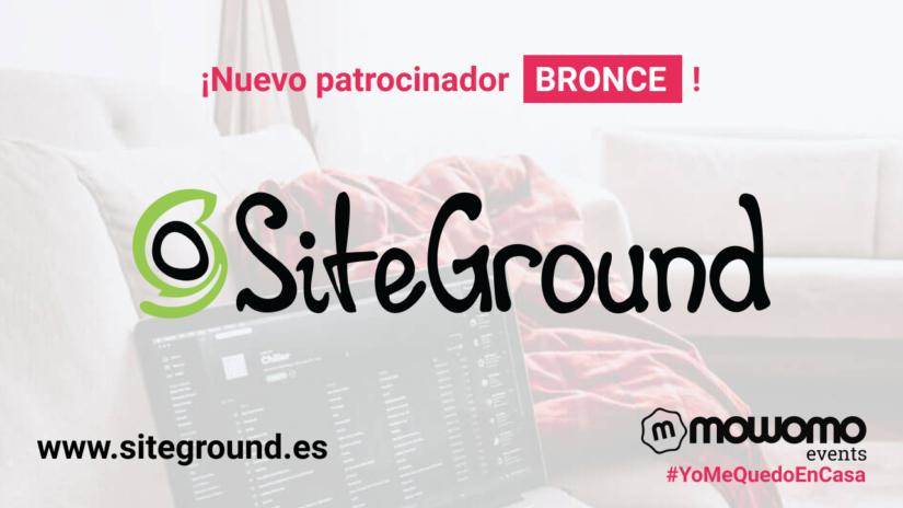 SiteGround: Patrocinador BRONCE