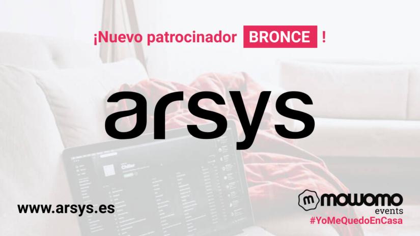 Arsys: Patrocinador BRONCE