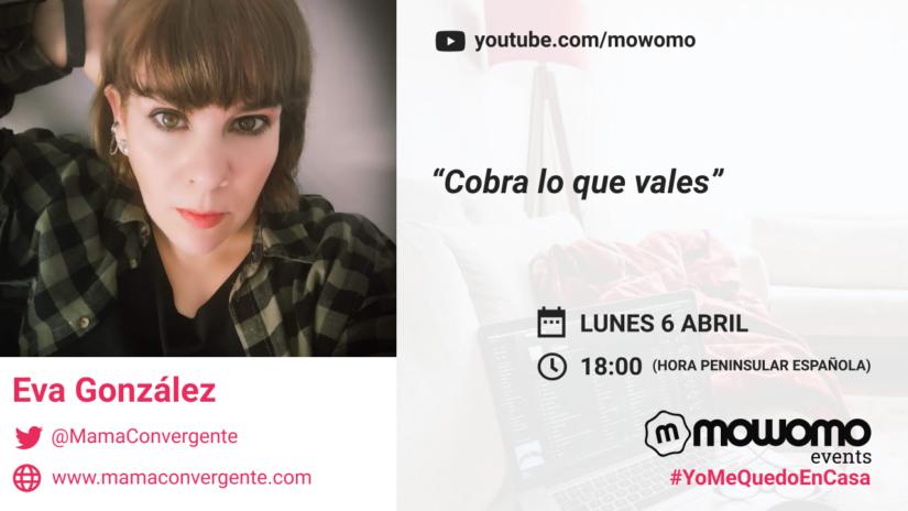 Eva González en el mowomocamp #yomequedoencasa