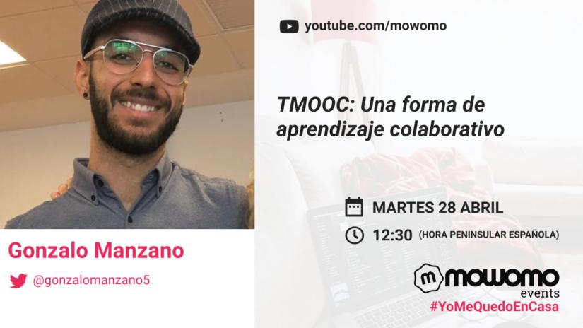 Gonzalo Manzano en el mowomo camp #yomequedoencasa