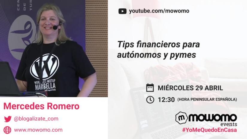 Mercedes Romero en el mowomo camp #yomequedoencasa