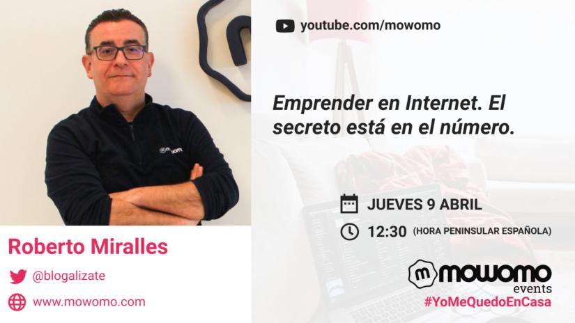 Roberto Miralles en el mowomocamp #yomequedoencasa